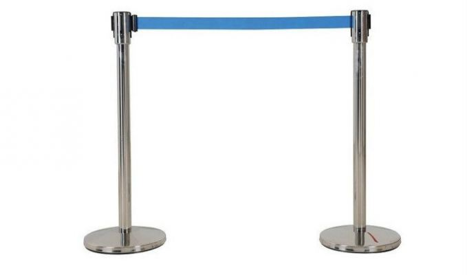 QP33B Retractable Q - Up Stand With Red Rope