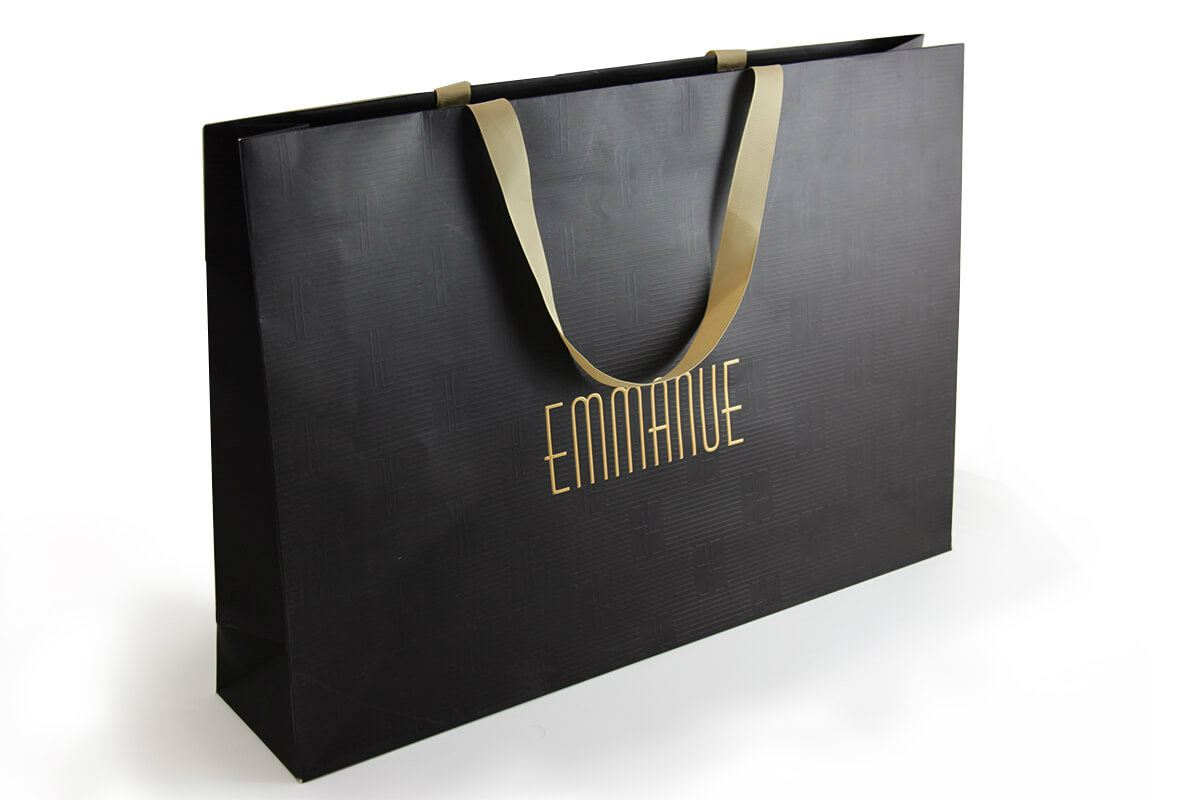 Emmanue - Embossed Paper Bag Paper Bags Singapore, Selangor, Kuala Lumpur (KL), Malaysia Service, Supplier, Supply, Supplies | Ricco Contento Group Of Company