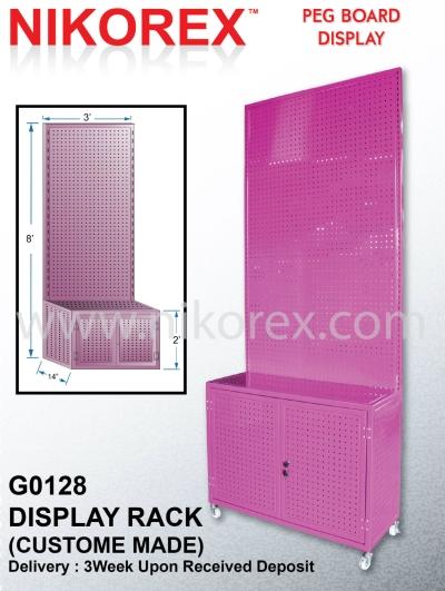 G0128 DISPLAY RACK (CUSTOM MADE)