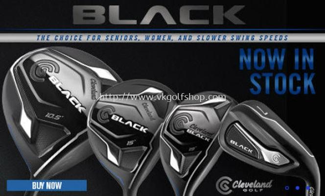 Cleveland Mens Black Series Steel Shaft Complete Set