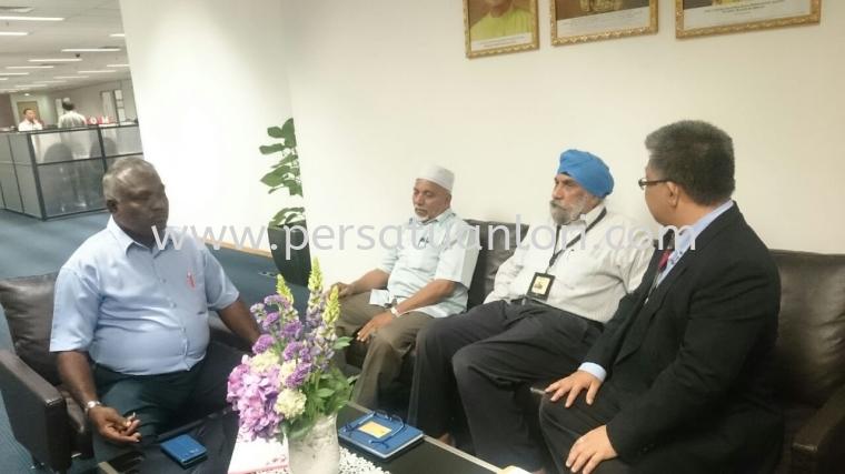 Meeting With YBhg Tan Sri Dato' Seri Dr. Syed Hamid Syed Jaafar Albar