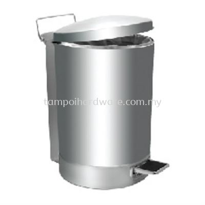 Stainless Steel Litter Bin complete with Pedal  RPD-080SS  32liter