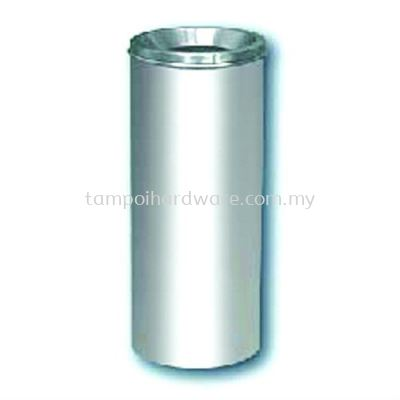 Stainless Steel Litter Bin complete with Open Top  RAB-020SS