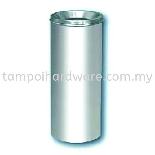 Stainless Steel Litter Bin complete with Open Top  RAB-020SS Stainless Steel Rubbish Bin Hygiene and Cleaning Tools