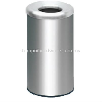 Stainless Steel Litter Bin complete with Open Top  RAB-072SS