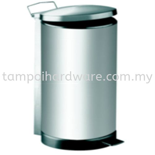 Stainless Steel Litter Bin complete with Pedal   RPD-048SS  5liter Stainless Steel Rubbish Bin Hygiene and Cleaning Tools