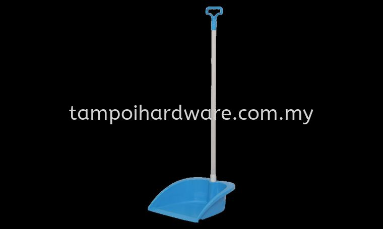 Dustpan Wih Handle 1009-H#  25L x 29.5W x 91H  cm Rubbish Pail Hygiene and Cleaning Tools