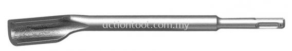 Hollow Gouge Chisel  S.D.S PLUS Moil Point & Chisel ACTION Moil Point and Chisel