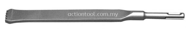 Slotting Tool S.D.S PLUS Moil Point & Chisel ACTION Moil Point and Chisel