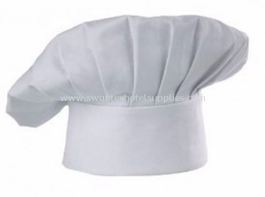 Cotton Chef Hat -white Color