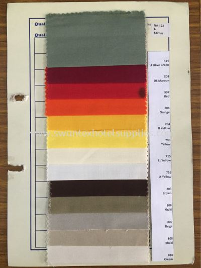Sample Colour Viscose 2