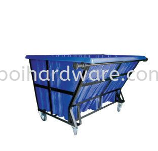 Metal Frame PE Bin - 1500 liter Rubbish Pail Hygiene and Cleaning Tools