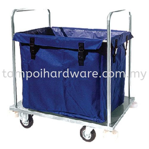 Stainless Steel Soil Linen Trolley  SLT-505SS  920L x 680W x 800H  mm Trolley Hygiene and Cleaning Tools