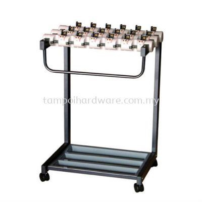 Umbrella Stand complete with 18 Lock   560L x 450W x 800H  mm