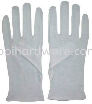 White Lady Gloves Hand Protections Personal Protective Equipments