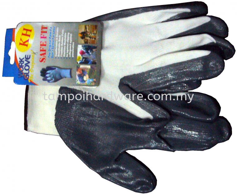 Plam Fit Glove Common Hand Protections Personal Protective Equipments
