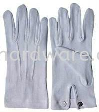 Police White Glove Hand Protections Personal Protective Equipments