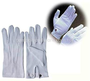 Police Glove With Botton