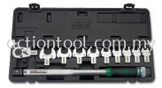"""1/2"""" DR. Head-Interchangeable Spanner Torque Wrench Set Wrenches and Torque Wrenches TOPTUL Hand Tool"""