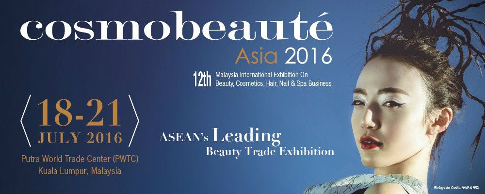 12th Malaysia International Exhibition On Beauty, Cosmetics, Hair, Nail & Spa Business (cosmobeaute Asia)