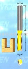 Two Flutes 1/2'' Shank (104A) Straight Bits ARDEN Router Bits and Shaper Cutters
