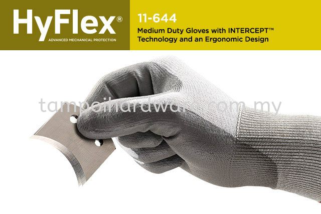 Ansell HyFlex Intercept 11-644  Hand Protections Personal Protective Equipments
