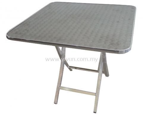 Foldable Square Cafe Table