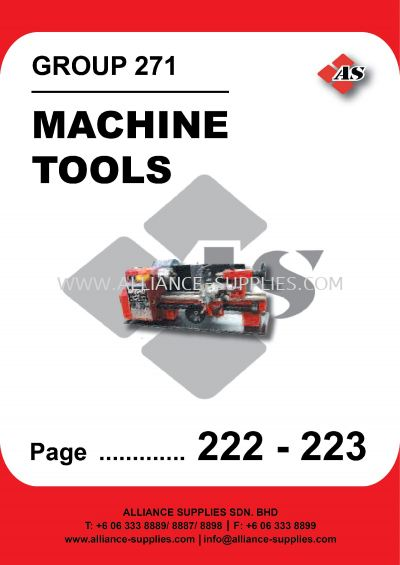 271-Machine Tools
