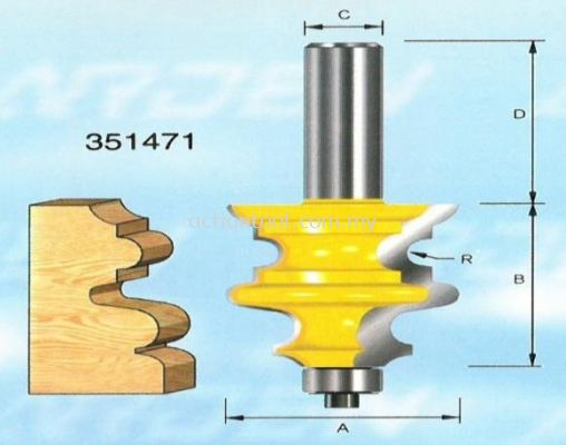 Specialty Moulding Bits (351)