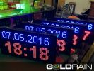 LED Clock And Calendar Signbrond  Clock And Calendar