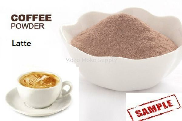 Latte powder