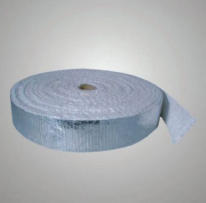 Ceramic Fiber Tape with SS with Aluminium Coating