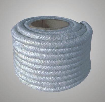 Ceramic Fiber Round Rope with Stainless Steel Wire