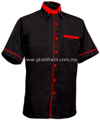 READY MADE UNIFORM M0310 (Black & Red)
