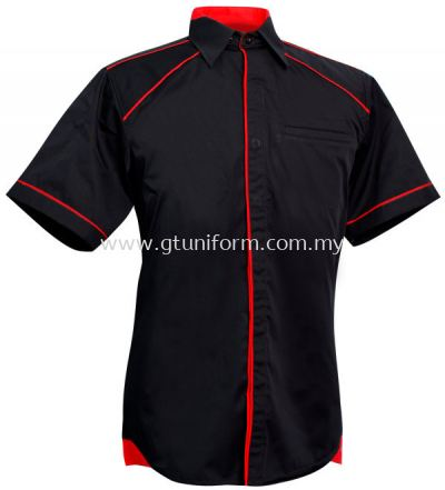 READY MADE UNIFORM M1010 (Black & Red)