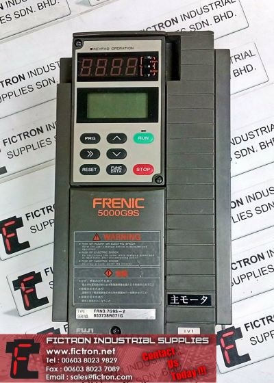 Repair Service Malaysia - FRN3.7G9S-2 FUJI FRENIC 5000G9S Drive Singapore Indonesia Thailand