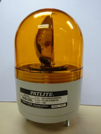 PATLITE WARNING LIGHT
