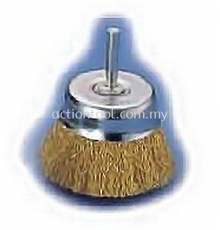 Cup Brushes with Shank (SC)