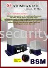 BSM S3 DC Sliding motor BSM Auto Gate System