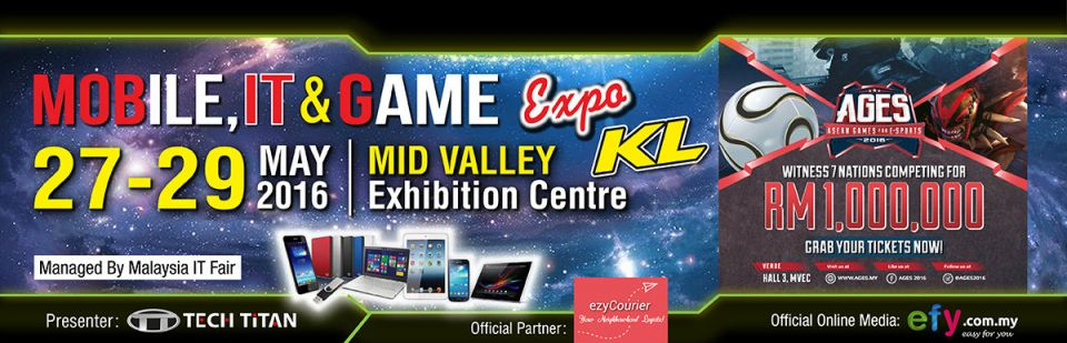 Mobile, IT & Game Expo (MITG) May 2016 Year 2016 Past Listing