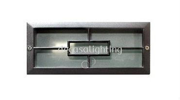 SL0255 BK - OUTDOOR STEP LAMP