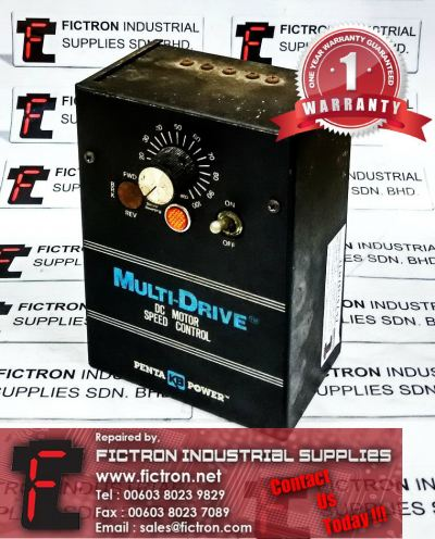DC Motor MULTI-DRIVE Speed Controller PENTA KB POWER Repair Service in Malaysia