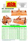 KHR-Heavy Series (Rotavator) KH-Rotavator Series Others Machinery