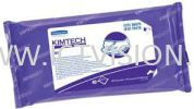 Kimtech Pure W4 - STERILE Pre-Sat Wipers CLEAN Manufacturing  Wipers - HACCP / FDA Compliant  (Kimberly Clark WYPALL)