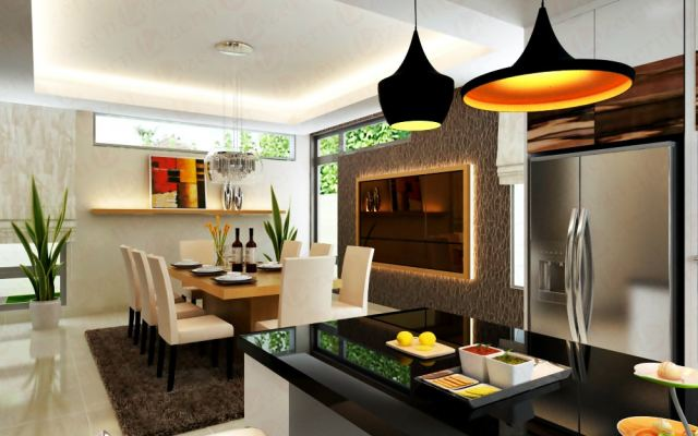 White And Wood Dining Ideas