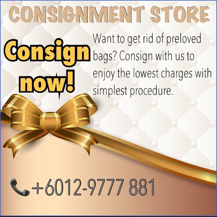 CONSIGNMENT AVAILABLE