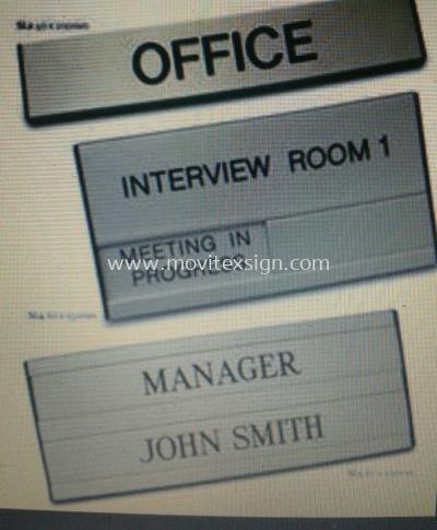 door sign /office  signage & residential gatesign