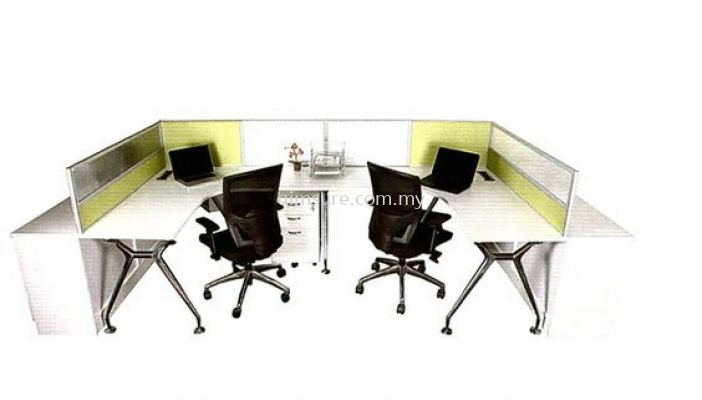 2 Pax Office workstation system (AIM28-C4-2-BT)