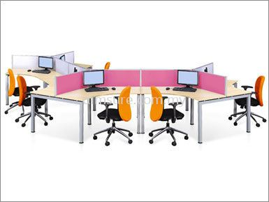 6 Pax honey comb workstation System (AIM28-C9-4-RM)