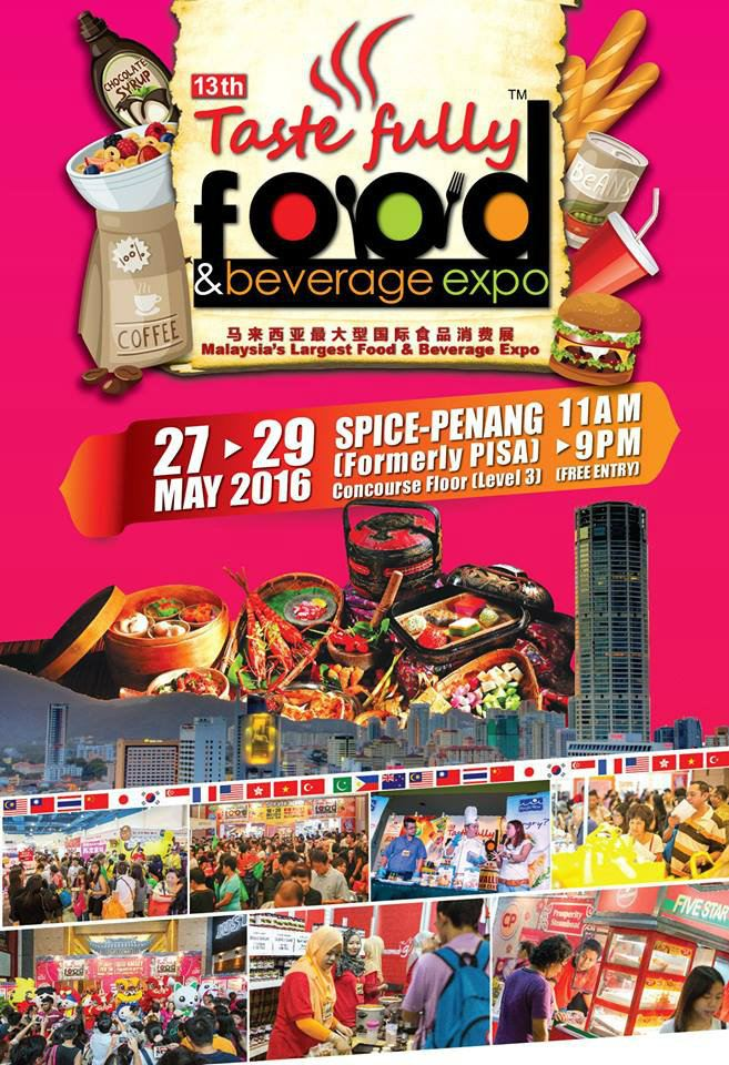 Taste Fully Food & Beverage Expo May 2016 Year 2016 Past Listing